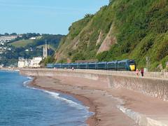 802112 Teignmouth (2) (Marky7890) Tags: gwr 802112 class802 iet 1c71 teignmouth railway devon rivieraline train
