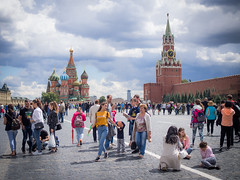people (marinachi) Tags: redsquare moscow summer sundaylights people cityscape city citylife