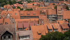 Quedlinburg rooftops (802701) Tags: 2016 201607 43 aatw aatw2016 em5 europe germany july july2016 mft micro43 omd omdem5 olympus olympusomdem5 quedlinburg saxonyanhalt fourthirds microfourthirds mirrorless travel travelling trips
