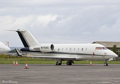 PNC Equipment Finance LLC. Challenger 605 N712AG (birrlad) Tags: shannon snn international airport ireland aircraft aviation airplane airplanes bizjet private passenger jet apron ramp parked n712ag bombardier cl6002b16 challenger 605 cl60 pnc equipment finance llc
