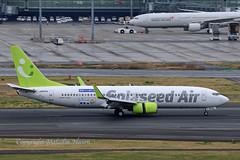B737 JA809X SOLASEED AIR (shanairpic) Tags: jetairliner passengerjet b737 boeing737 tokyo haneda solaseedair ja809x