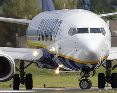 Frindly Wave! Ryanair 737-800 EI-EKJ (birrlad) Tags: shannon snn international airport ireland aircraft aviation airplane airplanes airline airliner airlines airways taxi taxiway takeoff departing departure runway ryanair boeing b737 b738 737 737800 7378as eiekj wave crew