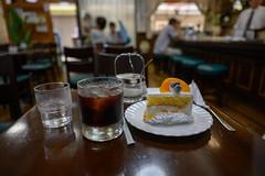 EVIAN COFFEE (Hideki-I) Tags: coffee café evian cake drink food nikon z7 2470 bokeh motomachi kobe hyogo japan 日本 エビアン 兵庫 神戸 元町 カフェ