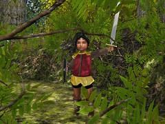 For Narnia! (Stella Starchild) Tags: sl rsc richmond survival camp second life notsponsored