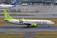 B737 JA812X SOLASEED AIR (shanairpic) Tags: jetairliner passengerjet b737 boeing737 tokyo haneda solaseedair ja812x