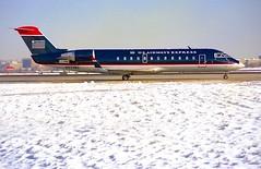 N77195 CRJ-200 US Airways Express (RedRipper24) Tags: canadair regionaljet dcacrj200usairwaysdcan77195usairwaysexpress