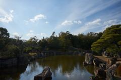 Nijo castle: pond (Christophe-la) Tags: kyoto japan japon kansai 京都 nijocatle nijojo nijōjō 二条城 unescoworldheritage unesco worldheritage