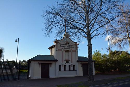 Thebarton Oval / Thebarton Soldiers' Memorial Recreation Grounds Gateway, South Australia