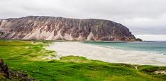 Varanger Peninsula, North Norway 🇳🇴 (Esa Suomaa) Tags: norway norge varanger barentssea nature sea beach green gras landscape planetearth mountains fjel olympusomd