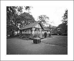 Bishops House (oldeyes47) Tags: bishopshouse zeroimage 4x5 largeformat pinholecamera film pinholephotography filmphotography blackandwhite rodinal fp4 sheffield southyorkshire withoutalens lenslessphotography