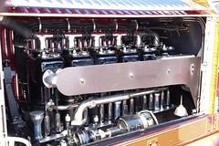 Big engine (desert11sailor) Tags: coolcars concours newburyport cars oldcars ahrensfox fireenginefiretruck engine