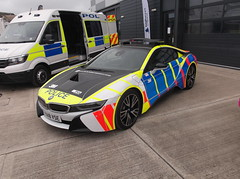 Photo of Northamptonshire Police BMW i8 (YA18 VSE)