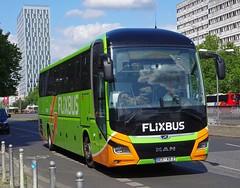 MAN Lion's Coach - FLiXBUS Bremen Germany (scotrailm 63A) Tags: buses coaches berlin germany