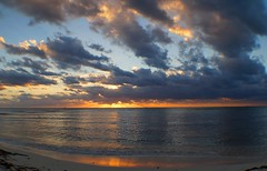 Good Morning (pkennedy1331) Tags: mexico mayan riviera sunrise clouds caribbean