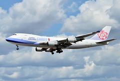 B-18708 China Airlines Boeing 747-400F (czerwonyr) Tags: b18708 china airlines boeing 747400f fra eddf