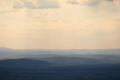 Rolling Hills (The Hobbit Hole) Tags: tulln hazy sunset landscape 2470mm40s nikon sky nikonz hills loweraustria lookout plain