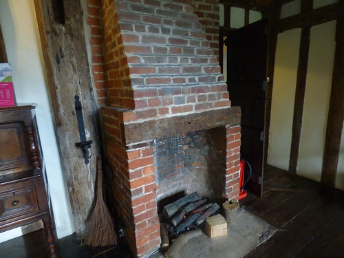 Paycocke's House - Dining Room - fireplace