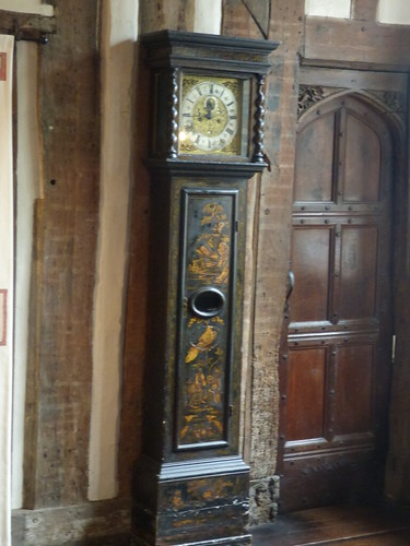 Paycocke's House - Main Hall - Grandfather clock