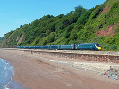 1A83 Teignmouth (Marky7890) Tags: gwr class800 iet 1a83 teignmouth railway devon rivieraline train
