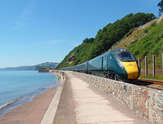 802106 Teignmouth (Marky7890) Tags: gwr 802106 class802 iet 1c74 teignmouth railway devon rivieraline train