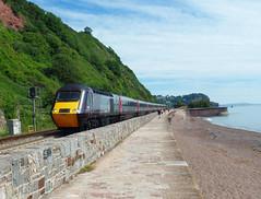 43366 Teignmouth (Marky7890) Tags: xc 43366 class43 hst 1v44 teignmouth railway devon rivieraline train