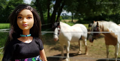 selfie with horses (photos4dreams) Tags: barbie toy doll dress kleid kleidung photos4dreams p4d photos4dreamz mattel spielzeug puppe püppchen fashionistas fashionista canoneos5dmark3 indian nativeamerican shania twilight barbies girl play fashion outfit kleider mode puppenstube tabletopphotography tribe indianer tattoo