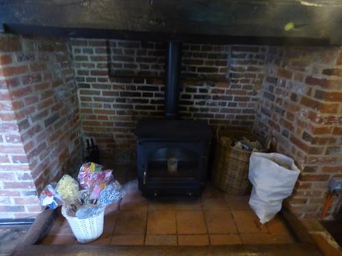 Paycocke's House - Main Hall - fireplace