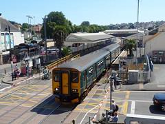 150244 Paignton (Marky7890) Tags: gwr 150244 class150 sprinter 2f41 paignton railway devon rivieraline train