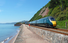1A82 Teignmouth (Marky7890) Tags: gwr class802 iet 1a82 teignmouth railway devon rivieraline train