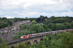 penultimate day of working (Tom 43299) Tags: lner class91 91108 train electric durham durhamstation