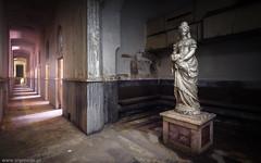 Imperial Baths (trip_mode) Tags: abandoned sanatorium decay urbex exploration exploring urban trespassing trip light window statue spa resort baths