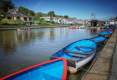 The Canal, Bude, Cornwall (silverfox107) Tags: cornwall canals bude rowingboats grii waterways
