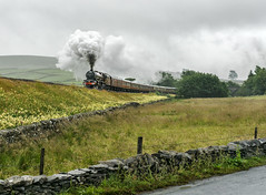 On the Charge (Kingmoor Klickr) Tags: gordonedgar 46201 6201 proncesselizabeth 1z24 cme cumbrianmountainexpress sc settlecarlisle mainlinesteam