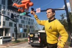 AF-681 Captain Kirk (misterperturbed) Tags: artscape2019 baltimore mezco captainkirk captainjamestkirk startrek mezcoone12collective one12collective charlesstreet