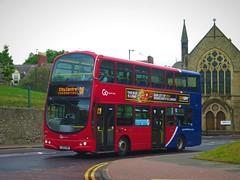 Go North East 6908 (LX06EBK) - 20-07-19 (peter_b2008) Tags: goaheadgroup gonortheast goaheadlondon londoncentral volvo b7tl wright eclipsegemini wvl259 6908 lx06ebk sunderland buses coaches transport buspictures