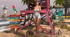 sense of summer (nicandralaval1) Tags: secondlife fashion secondlifefashion tram senseevent sense collabor88 c88 equal10 evhah gomakeup una mushilu 7deadlys{k}ins maitreya lelutka summer summertime beach beachwear valuxia carolgtattoowear tattoo hair shoes sheba it lyrium