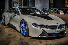 BMW I8 (Peters HDR hobby pictures) Tags: petershdrstudio hdr bmw i8 electricalcar car auto dreamcar traumauto elektroauto classicremise