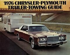 1976 Chrysler Newport Custom (aldenjewell) Tags: 1976 chrysler newport custom trailer towing brochure