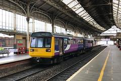 20190717 002 Preston. 142028 2N14 18.57 To Colne (15038) Tags: railways trains br britishrail diesel dmu class142 preston 142028