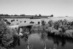 Road 206 (poavsek) Tags: leica m4 summicron ilford film california county madera rural