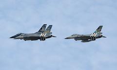 General Dynamics F-16AM  FA-101, FA-124, FA-57 (phillipwilmshurst1) Tags: f16am riat 2019 belgian air component