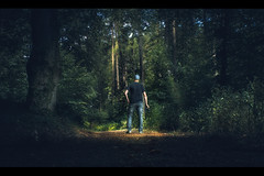 Hunting Time (HeiJoWa) Tags: alpha6000 sony alpha 6000 fujian35mmf17 cctv manual primelens selfie portrait kino cinema movie cover forest wald hunting fantasy nunkirchen saarland wadern deutschland herrnergal inthewoods germany green grün cheaplens