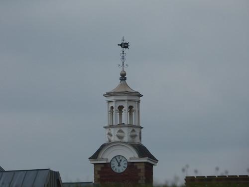 Old Swinford Hospital - Pepper Hill, Stourbridge - clock tower