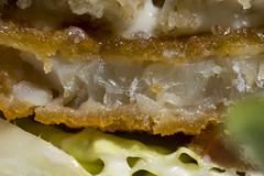 Fish Finger Sandwich (steve_whitmarsh) Tags: macro closeup food drink fish sandwich bread macromondays gonefishing topic