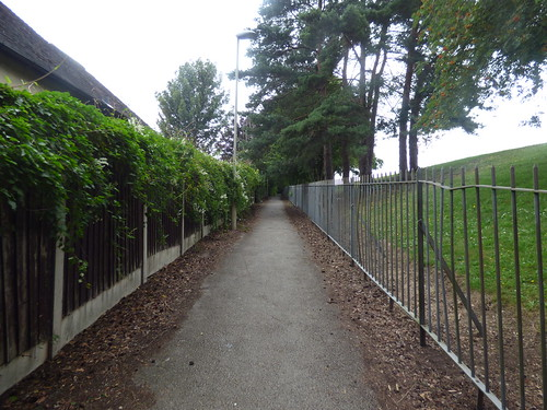 Old Swinford Hospital - Pepper Hill, Stourbridge - footpath