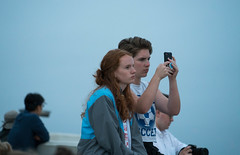 Redhead and Friend at Griffith Observatory - Los Angeles, CA (ChrisGoldNY) Tags: chrisgoldphoto chrisgoldny chrisgoldberg bookcovers albumcovers licensing sonyalpha sonya7rii sonyimages losangeles hollywood griffithobservatory california socal cali westcoast usa america redhead redheads redhair gingers candid ginger freckles girls women beautiful cute female angeleno