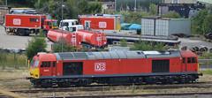 60074 (lcfcian1) Tags: toton railways trains depot ews db totondepot nottinghamshire train tracks rails diesels railyard 60074 class60 60