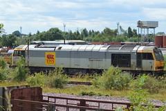 60067 (lcfcian1) Tags: toton railways trains depot ews db totondepot nottinghamshire train tracks rails diesels railyard 60067 class60 60
