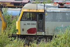 60060 (lcfcian1) Tags: toton railways trains depot ews db totondepot nottinghamshire train tracks rails diesels railyard class60 60