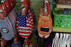 Trump Novelty Items (Robert_741) Tags: trump novelty items point pleasant beach nj new jersey usa united states america boardwalk shop president pres donald j party popper all one bottle opener beverage insulator
